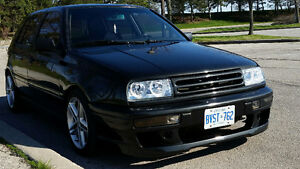 1993 VW 4 DOOR GOLF VR6 JETTA FRONT END!!!!!