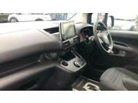 2020 Vauxhall COMBO LIFE 1.2 Turbo Energy Auto (s/s) 5dr MPV Petrol Automatic