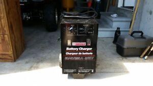 MotoMaster 40/60/250A -6/12V Batter Charger