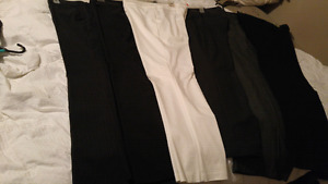 6 pair women's pants- sz 12