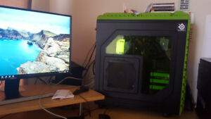 Selling Gaming Desktop Package- Monitor, keyboard and mouse