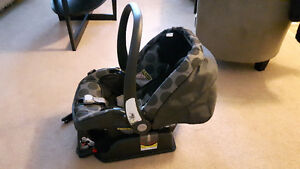 Accident free car seat and base