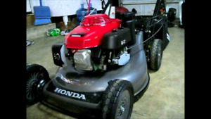 Lawnmower tune up and repair