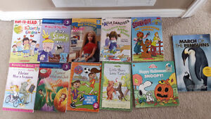 11 kids books (incl levelled readers)