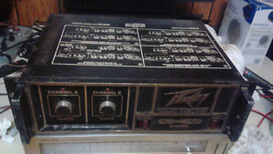Old pro dj amplifier