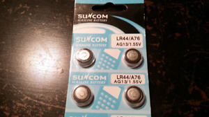 LR44 / 371 / A76 Button battery / cell