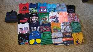 Lot of 25 boys size 5/6 Tshirts