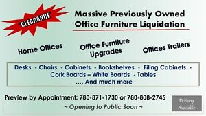 Massive Previously Owned Office Furniture Liquidation