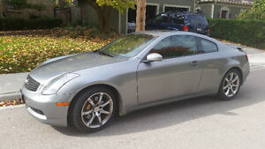 2003 Infiniti G35 Coupe LOW MILEAGE, CERTIFIED, E-TESTED