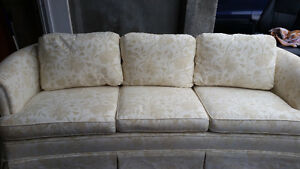 Like new off white couch