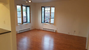 August FREE: 2-1/2 one block from Papineau metro, St-Catherine E