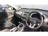 2014 Kia Sportage 1.6 GDi 1 5dr Petrol white Manual