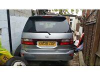 Toyota previa car parts for sale 2001, 2l petrol