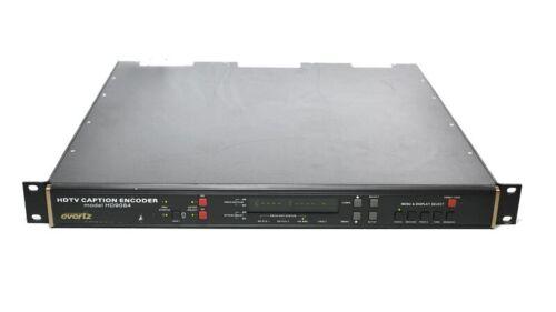 Evertz HD9084 +2PS HD DTV Closed Caption Encoder CC