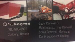 scrap removal? A&B Property management has you covered