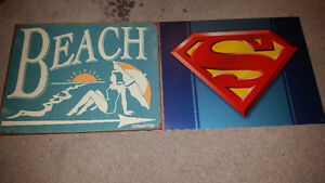 32 metal signs for sale only $10 each all in mint condition.....