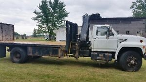 Ford F-800, dump truck with Hiab crane Kitchener / Waterloo Kitchener Area image 5