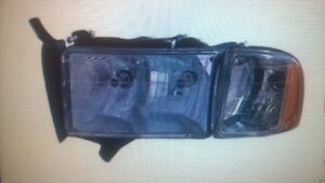 Dodge Ram Driver Side Replacement Headlight Unit
