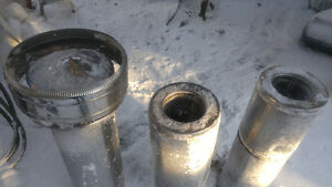 Stainless Chimney pipe with Cap