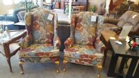Wing Back Chairs Winnipeg Manitoba Preview