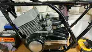 1975 rd350 engine assembly