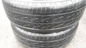 PAIR OF R15 195-65 SUMMER TIRES