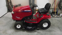 Red craftsman DYT4000 18.5 hp tractor