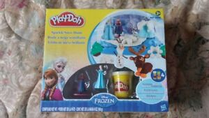 Play-doh sparkle snow dome--REDUCED
