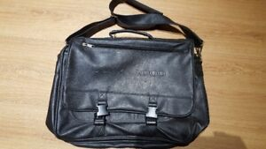 Leather Sony Laptop Bag - Year 2000 Embossed Collectible