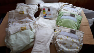 Kuahies washable cloth diapers-brand new