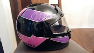 Ladies Snowmobile helmet & bag