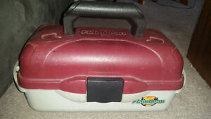 Flambeau Outdoors fishing tackle box with goodies only $35...... London Ontario image 2