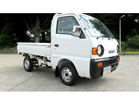 SUZUKI SUPERCARRY PICKUP, Fresh Import, 4WD, Axle Lock, Only 54k KMS From New
