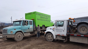 Cash $$ for all scrap vehicles junk car removal and Towing