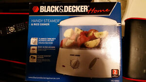Black and decker food steamer never used