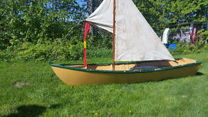 16ft sailboat that will handle a small outboard motor