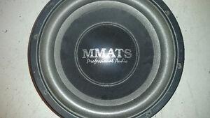 "Mmats procast 12"" car audio subwoofer"