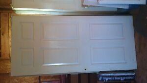 6 panel slab doors