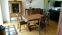 Ensemble salle a diner antique / Vintage dining room set