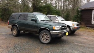 1999 Toyota 4Runner Limited edition SUV, Crossover