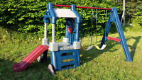 Used Little Tikes® Clubhouse™ Swing Set