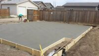 CONCRETE SLABS,GARAGES,PADS & STAIRS