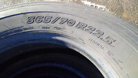 MICHELIN® XZA® Two Tires with Rims (365/70R22.5)