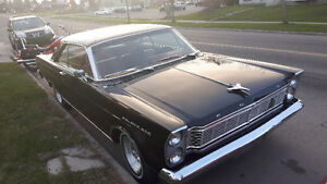 1965 Ford galaxie 500 black w/red Interior mint condition