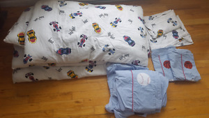 Boys double bed set
