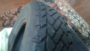 P205/65R15 winter tires. (Radial ST/2)