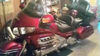 for sale 2008 Honda goldwing, like new good condition