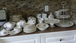 Vintage Royal Albert Tranquility china (all pieces made in Eng)