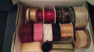 "ASSORTED RIBBON. -  LOT. "" A"""