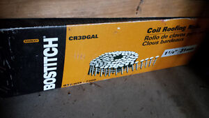 20 coils of roofing nails.